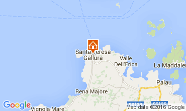 Mapa Santa Teresa di Gallura Apartamentos 104491