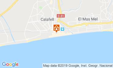 Mapa Calafell Apartamentos 117976