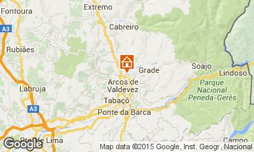 Mapa Arcos de Valdevez Vivenda 48914