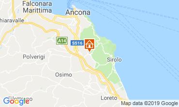 Mapa Sirolo Apartamentos 79636
