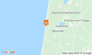 Mapa Mimizan Apartamentos 116165