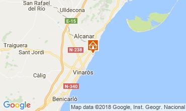 Mapa Vinaròs Vivenda 53548
