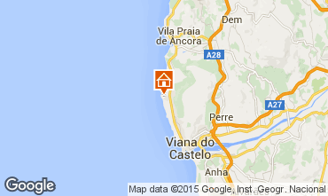 Mapa Viana do Castelo Casa 74092