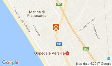 Mapa Pietrasanta Vivenda 108497