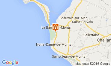 Mapa La Barre de Monts Vivenda 95533