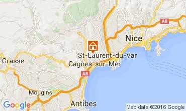 Mapa Nice Apartamentos 105422