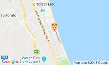 Mapa Tortoreto Apartamentos 94099