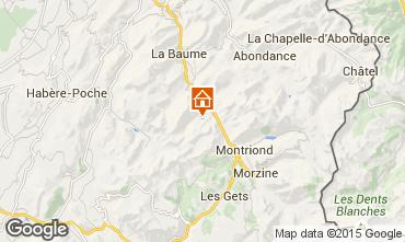 Mapa Saint Jean d'Aulps- La Grande Terche Apartamentos 15124
