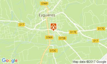 Mapa Eyguières Casa 112210