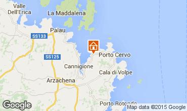 Mapa Porto Cervo Apartamentos 29162