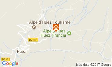 Mapa Alpe d'Huez Apartamentos 111769