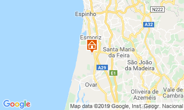 Mapa Espinho Apartamentos 29893