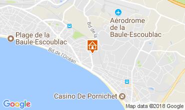 Mapa La Baule Apartamentos 112936