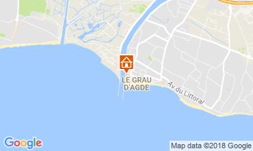 Mapa Agde Apartamentos 113127