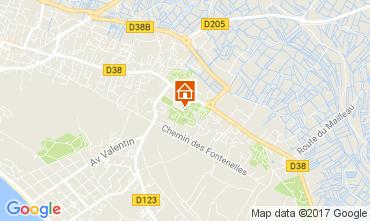 Mapa Saint Jean de Monts Mobil Home 112527