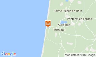 Mapa Mimizan Casa 24503