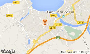 Mapa Saint Jean de Luz Apartamentos 95049
