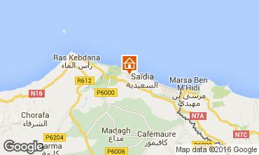 Mapa Saidia Apartamentos 93202
