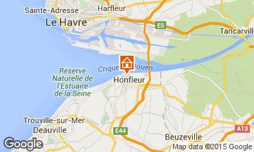 Mapa Honfleur Apartamentos 72449