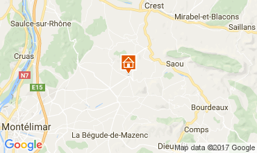 Mapa Montélimar Casa 111004
