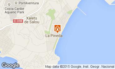 Mapa La Pineda Apartamentos 93565