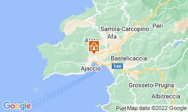 Mapa Ajaccio Apartamentos 107850