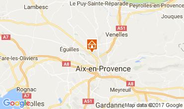 Mapa Aix en Provence Apartamentos 111513