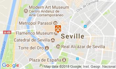 Mapa Sevilha Apartamentos 106199