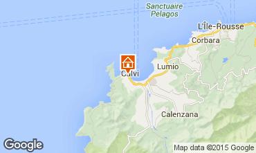 Mapa Calvi Apartamentos 69581