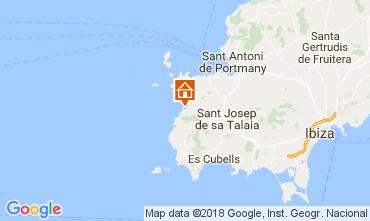 Mapa Cala Vadella Vivenda 112785