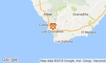 Mapa Los Cristianos Apartamentos 115856