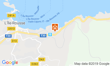 Mapa Location Ile Rousse Apartamentos 16871