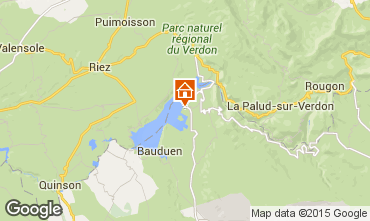 Mapa Les Salles sur Verdon Apartamentos 77282