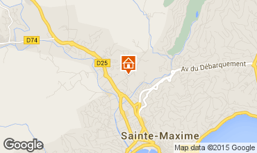 Mapa Sainte Maxime Vivenda 100051