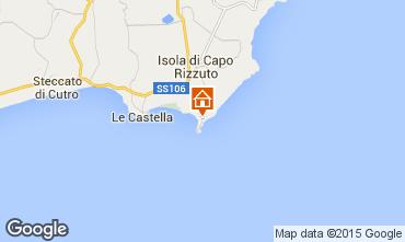 Mapa Isola di Capo Rizzuto Apartamentos 86613