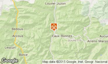 Mapa Laruns Casa de turismo rural/Casa de campo 64268