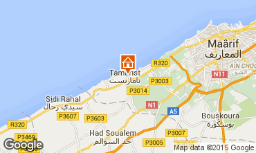 Mapa Casablanca Apartamentos 66528