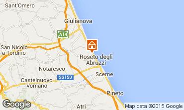 Mapa Roseto degli Abruzzi Apartamentos 83270