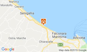 Mapa Senigallia Apartamentos 116942