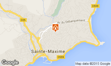 Mapa Sainte Maxime Casa 22491