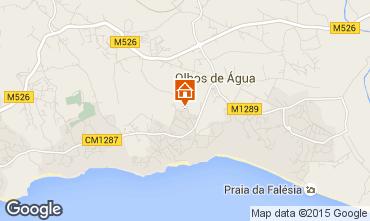 Mapa Albufeira Vivenda 57069