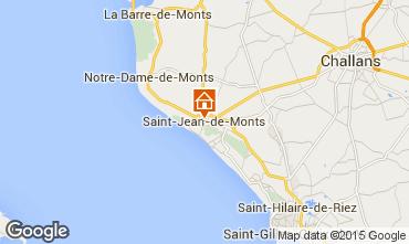 Mapa Saint Jean de Monts Apartamentos 61532