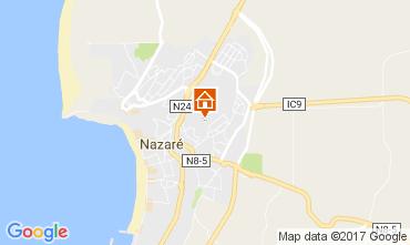 Mapa Nazaré Apartamentos 107623