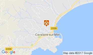 Mapa Cavalaire-sur-Mer Apartamentos 112232