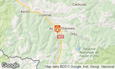 Mapa Ax Les Thermes Chalé 3915