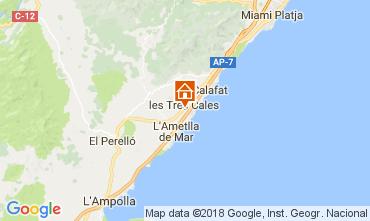 Mapa La Ametlla de Mar Vivenda 113378