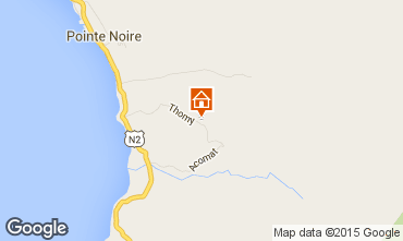Mapa Pointe Noire Casa de turismo rural/Casa de campo 90752
