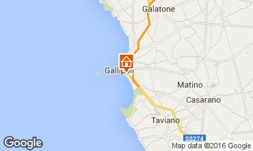 Mapa Gallipoli Apartamentos 97119