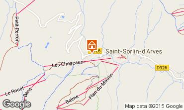Mapa Saint Sorlin d'Arves Chalé 2686