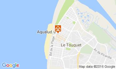 Mapa Le Touquet Apartamentos 106167